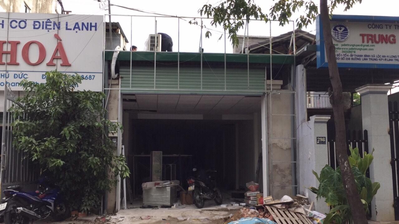 Xây dựng trọn gói nhà xưởng và bảng hiệu Thái Hòa