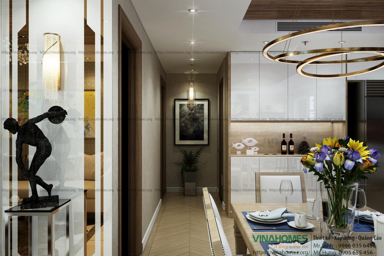 Thiết kế - thi công nội thất cho căn hộ chung cư Hà Đô Centrosa - Q.10 - TP. HCM
