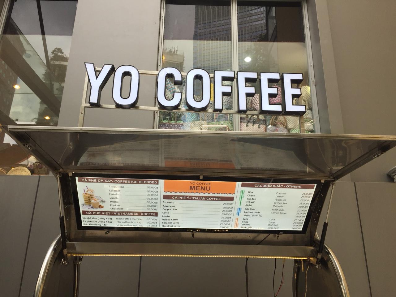 Sản xuất Xe cà phê lưu động