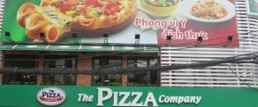 Làm mới và bảo trì quảng cáo chuỗi nhà hàng The Pizza Company Khu vực HCM