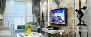 Thiết kế - Thi công nội thất cho căn hộ chung cư cao cấp Hà Đô Centrosa - Q.10 - TP. HCM