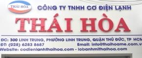 Nhà xưởng Thái Hòa
